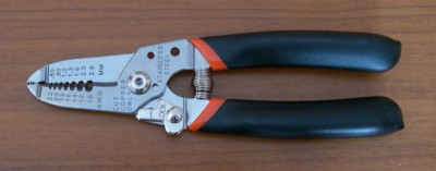 Wire strippers,stainless steel construction (SKU: GT-5021S)