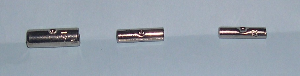 Butt splice crimp on connectors, high temp,non coated