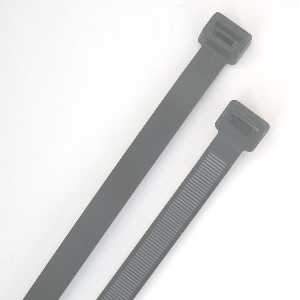 Extra heavy duty nylon 6/6 UV rated cable ties are carry a 250 lbs tensile strength rating